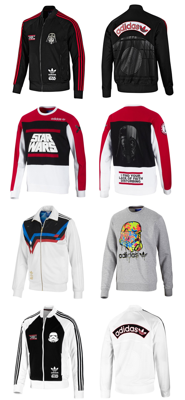 Adidas Collection - Star Wars Blusas-Jaquetas