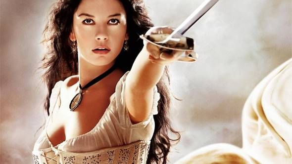 Elena Montero (Catherine Zeta-Jones) – A Máscara do Zorro