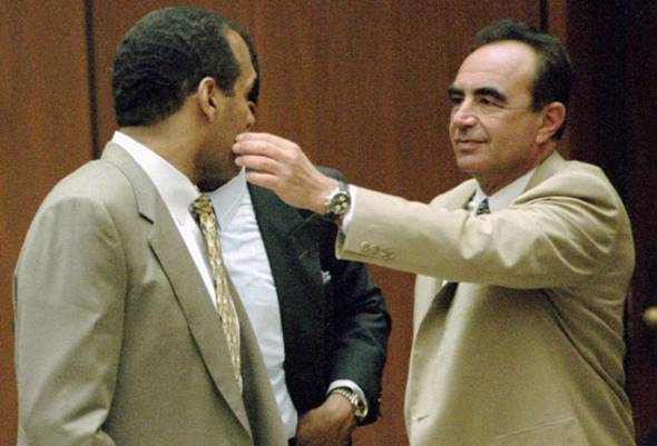 Robert Shapiro e OJ Simpson