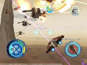 Star Wars Star Fighters - PS2