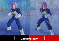 Trunks após sala do tempo - Dragon Ball Z Budokai Tenkaichi 3