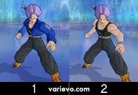 Trunks do Futuro Espada - Dragon Ball Z Budokai Tenkaichi 3
